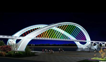 南宁大桥设计图展示